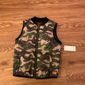 NWT 7 For All Mankind vest top jacket 2T